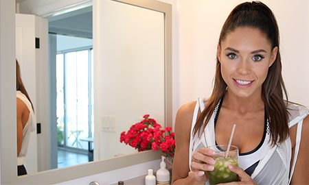 Getting Ready with SWEAT Trainer, Kelsey Wells