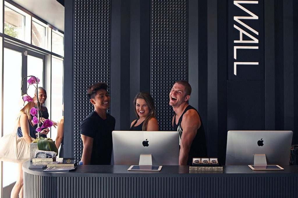 'THE WALL' Is LA's First Fully Registered Green Fitness Studio