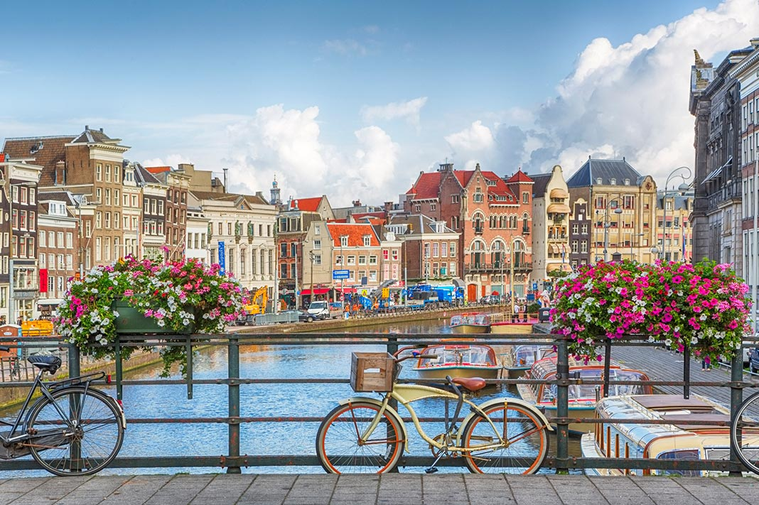 best cities to flirt in, amsterdam