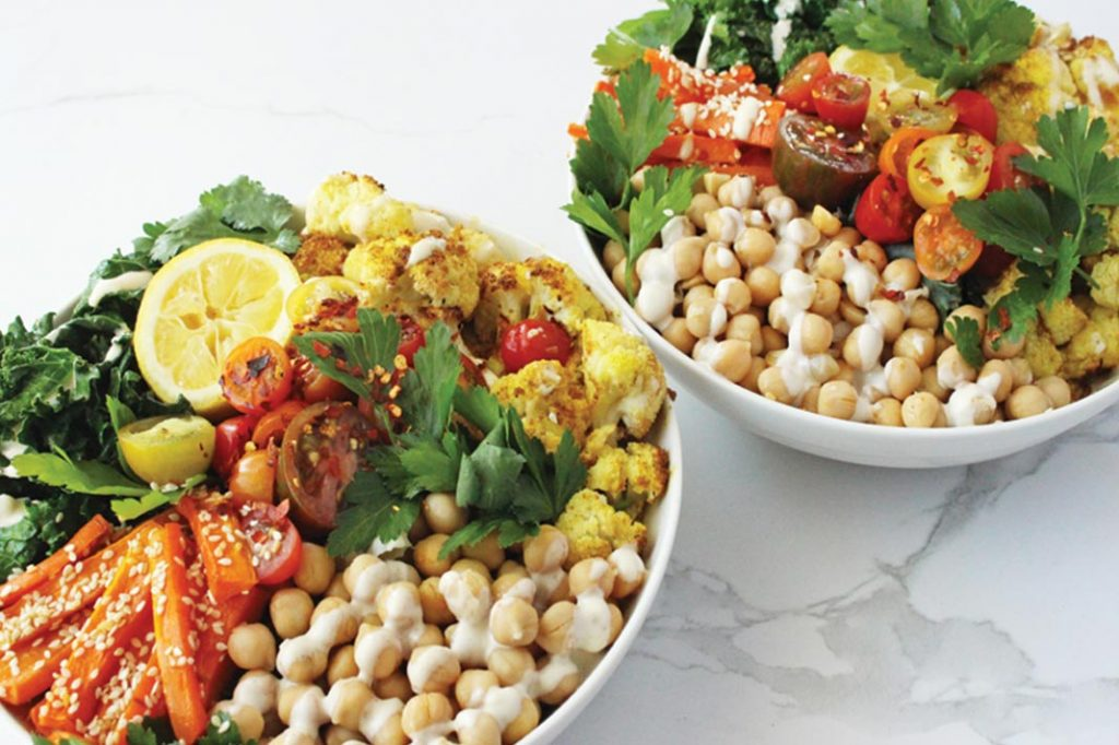 Stuck For Healthy Lunch Ideas? This Rainbow Bowl Makes BYO To Work Easy