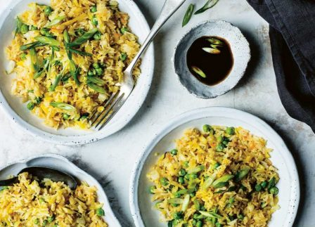 Breeze Through Meat-Free Week With This Kimchi Fried Rice Recipe