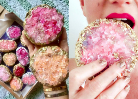 Meet The Founder Behind These Gorgeous Crystal-Inspired Cookies
