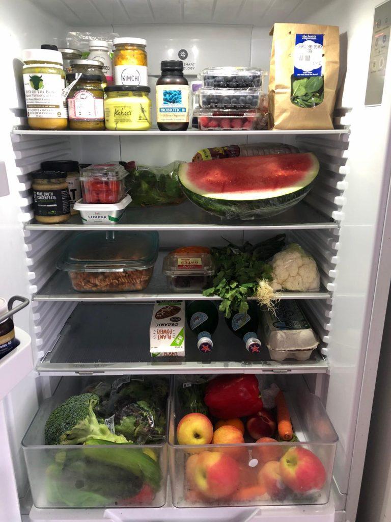 inside rachael finch fridge