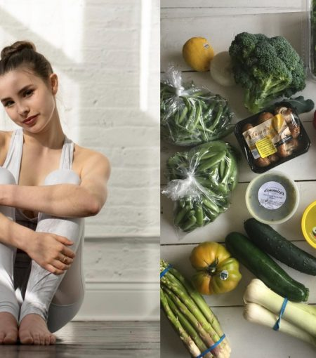 In The Kitchen Of Ballerina and Author, Sassy Gregson-Williams
