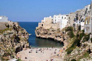 coastline puglia italy