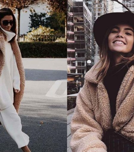 9 Ways To Style This Season's Must-Have Sherpa Coat