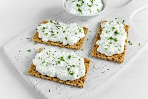 cottage cheese snack before bed