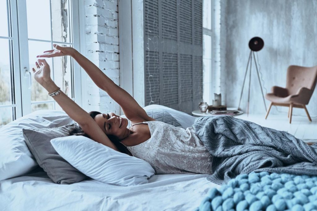 morning routine of successful women