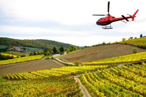 helicopter tuscany