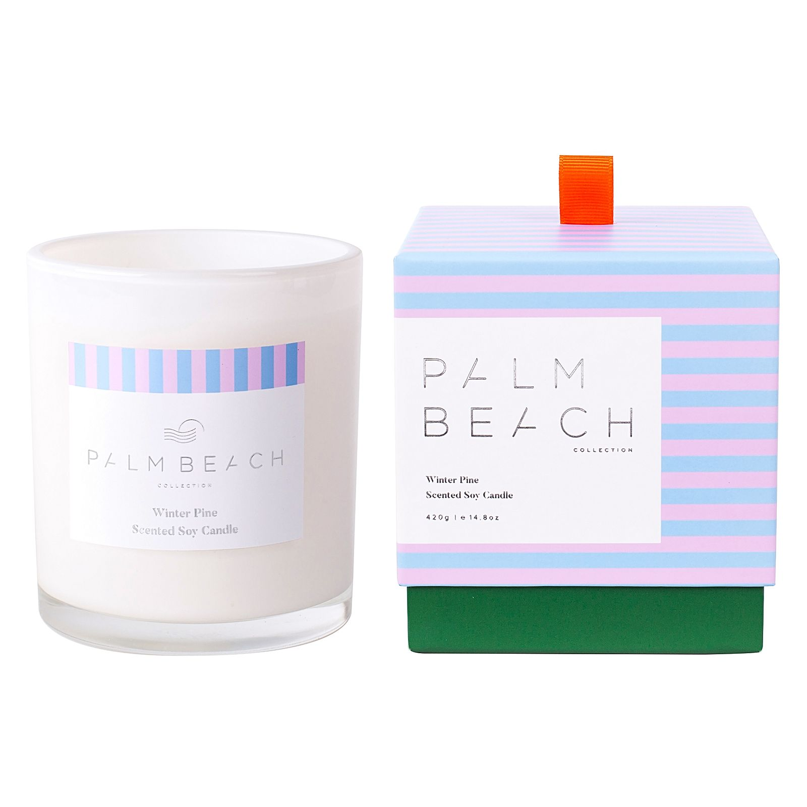 palm beach christmas candle
