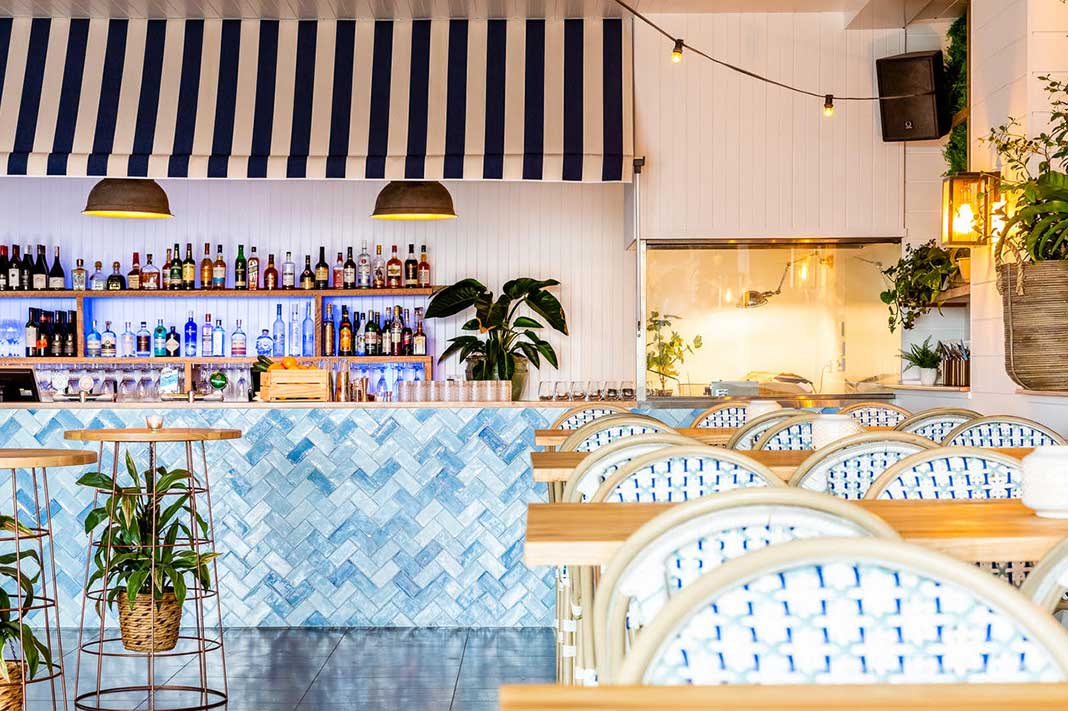 A Look Inside Sydney's New Hamptons-Inspired Rooftop Bar