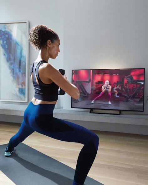 peloton yoga at home