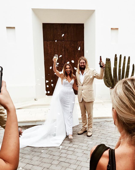 bree warren wedding in mexico