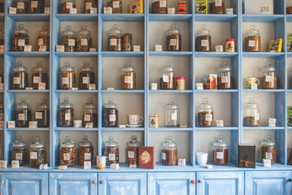 Traditional Chinese Medicine apothecary
