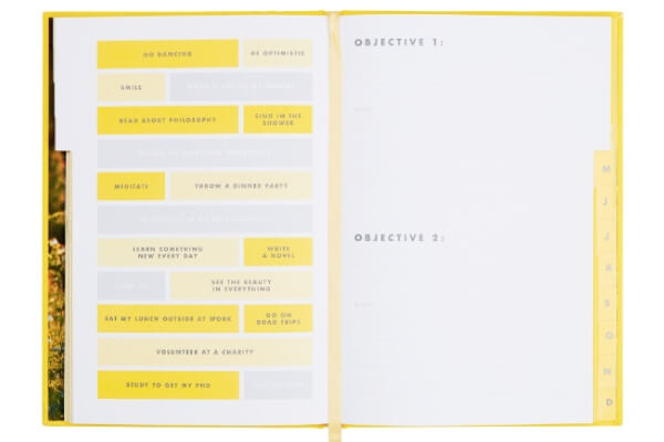 Image of the Happiness journal