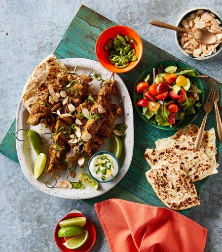Try This Tikka Masala Lamb Kebab Recipe For A Protein-Packed Dinner