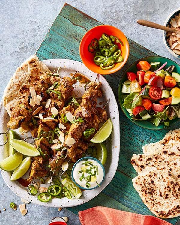 tikka masala lamb kebab