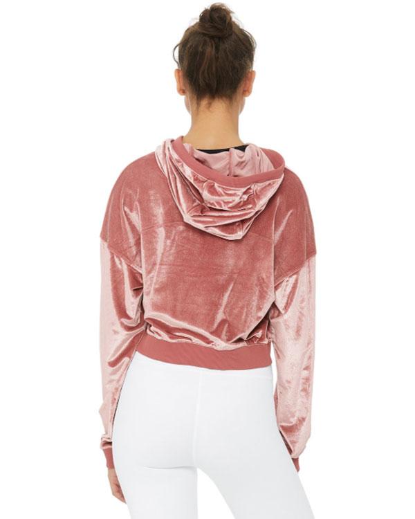 long sleeve hoodie athleisure styles