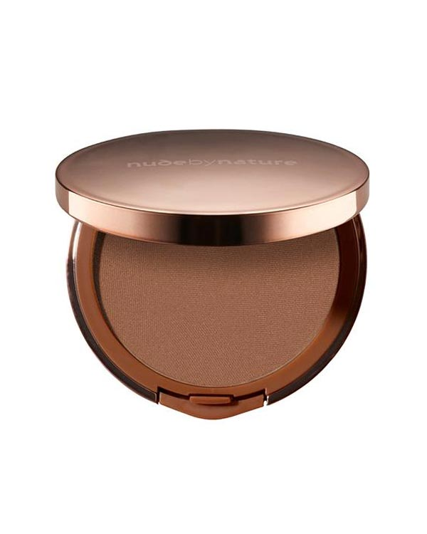 nude by nature sunkissed pressed bronzer glowing skin