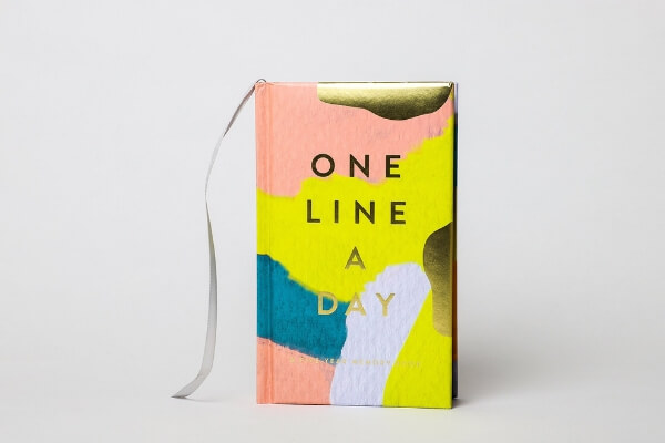 one line a day gratitude journal