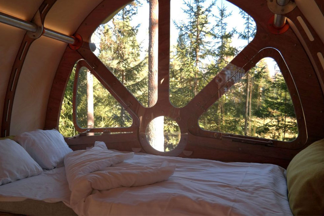 This Flat-Packed Cabin Takes Eco-Friendly Glamping To The Next Level