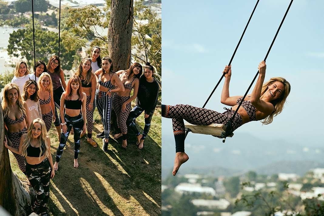 Inside This Exclusive Wellness Event Set Atop A Mountain Tree House Overlooking LA