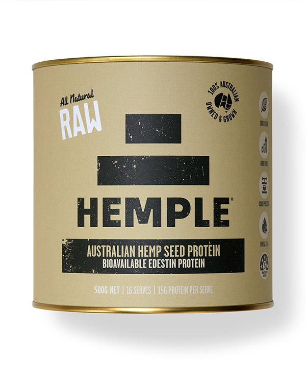 hemp seed protein powder