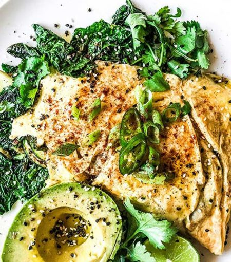 Start Your Day With This High-Protein Omelette With Chilli, Lime & Coriander
