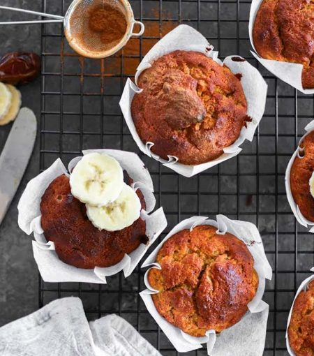 Recipe: Easy Banana Muffins For A Healthy Snack Or Breakfast-On-The-Go