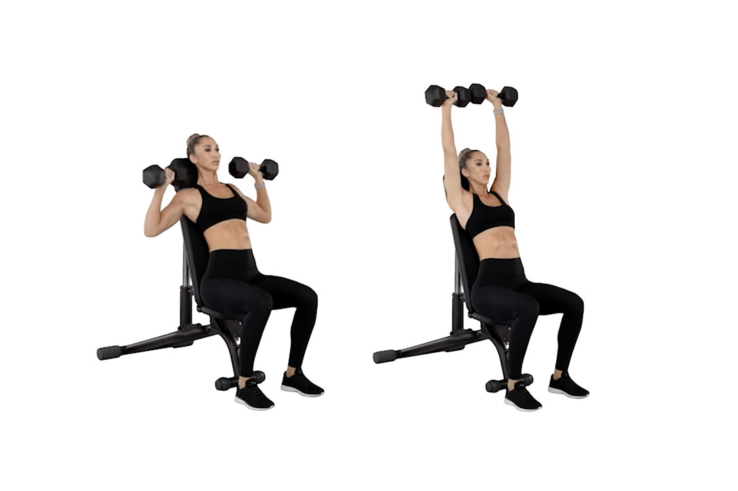 chontel duncan sweat trainer upper body workout