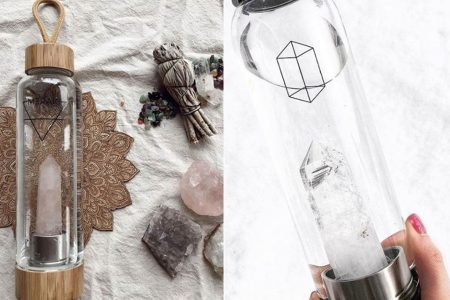 What To Look For When Buying Crystal-Infused Water Bottles