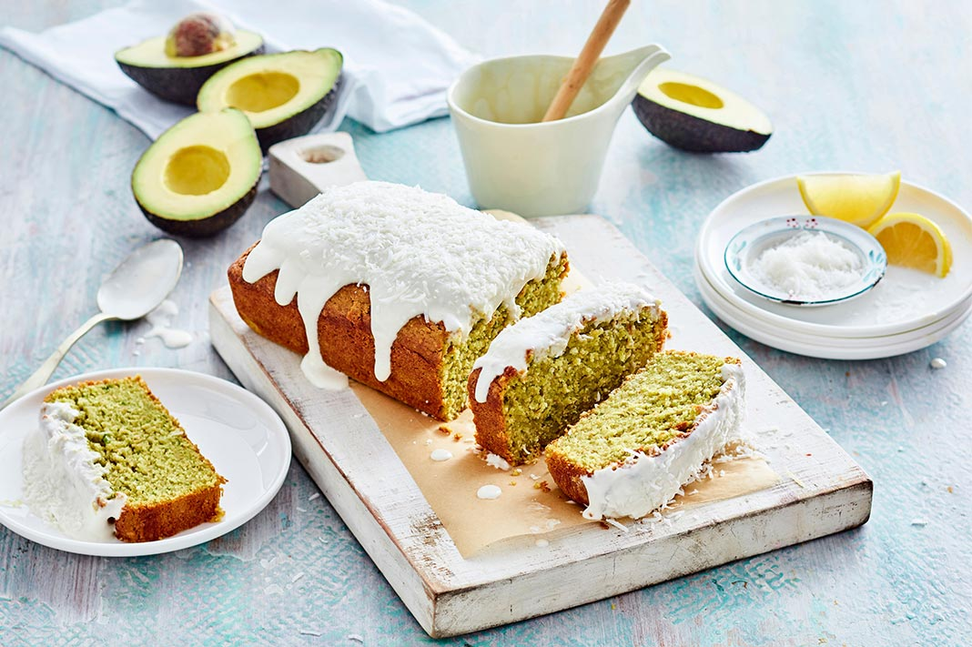Recipe: Dairy-Free Lemon & Avocado Pound Cake With Coconut Icing