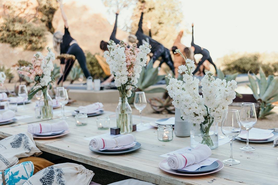 table for 12 topanga