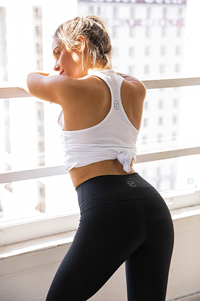 Sporteluxe activewear Launch Black Legging