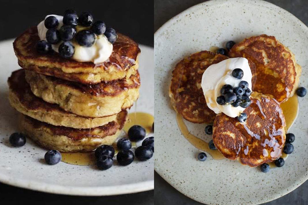 Recipe: Teresa Cutter's Banana Bread Pancakes Are Full Of Protein & Fibre