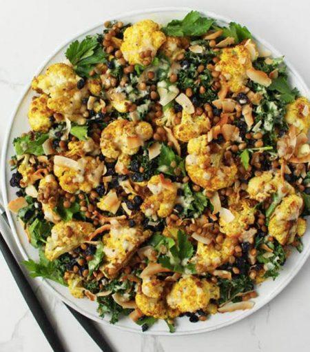 Recipe: Jessica Sepel's Vegetarian Curried Cauliflower Salad