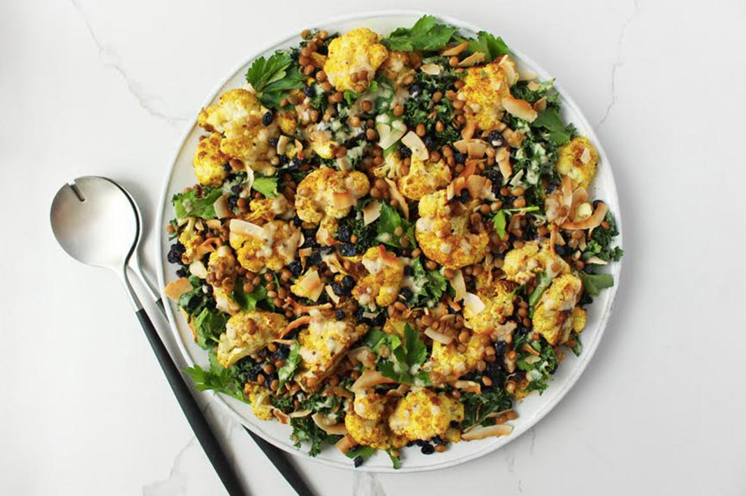 Recipe: Jessica Sepel's Vegetarian Curried Cauliflower Salad
