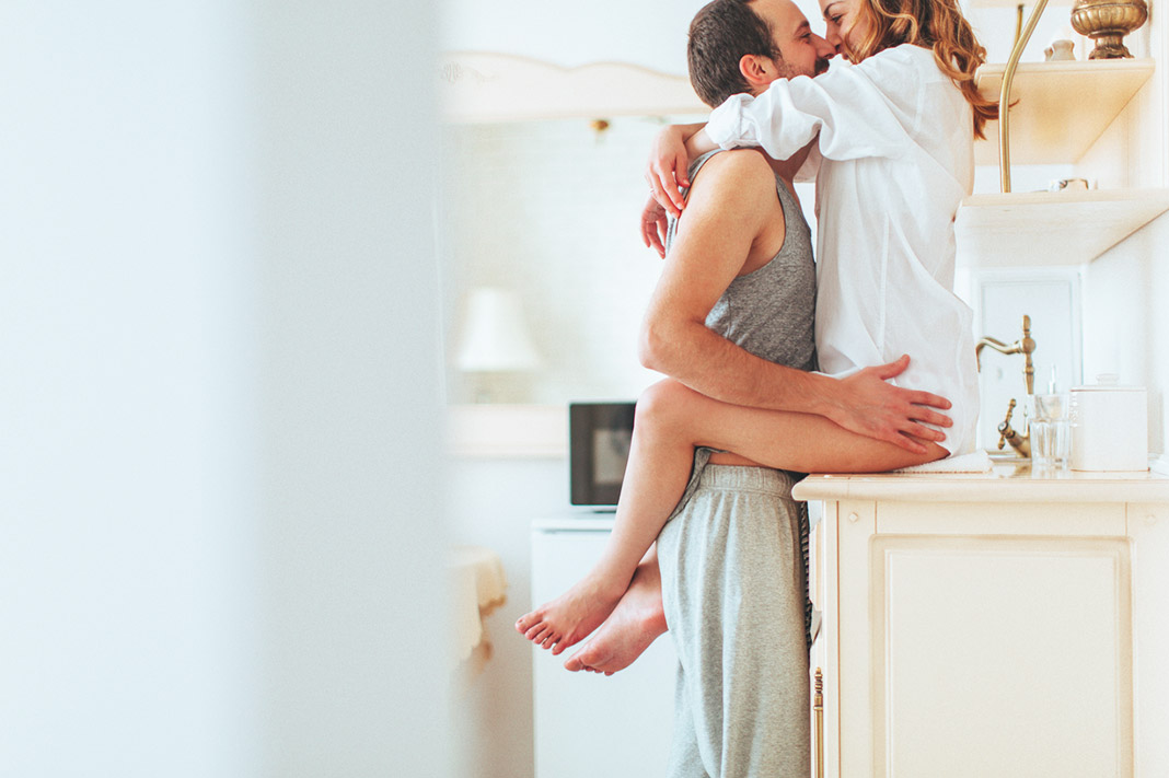 5 Ways To Build Your Sex Life Outside Of The Bedroom, According To A Sexologist