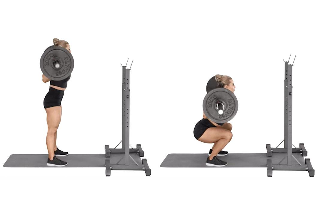 steph sans weight lifting workout