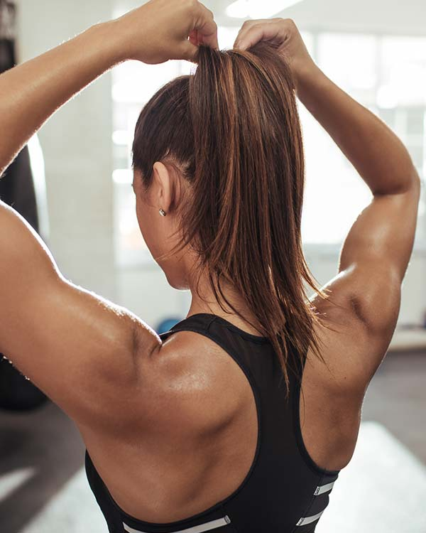 benefits of boxing toned arms