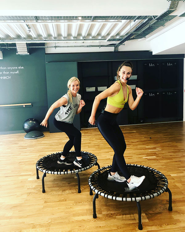 I Tried A Trampoline Workout At Body By Simone In London