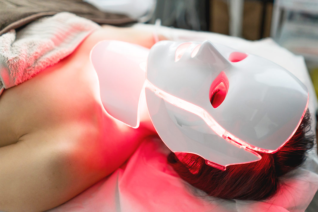 This Popular At-Home LED Face Mask Has Been Recalled Due To Risk Of Eye Damage