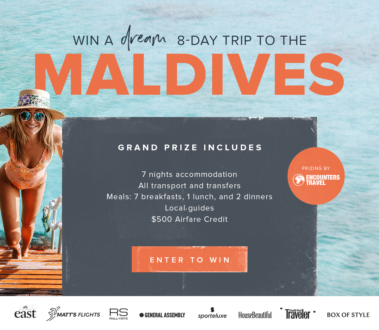 Maldives Giveaway