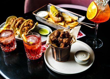 This Sydney Waterfront Hotel Boasts A Vegan 'American Diner' Bar Menu