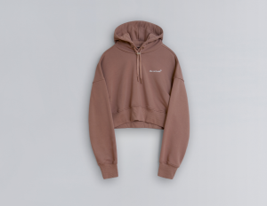 the arrivals cropped hoodie