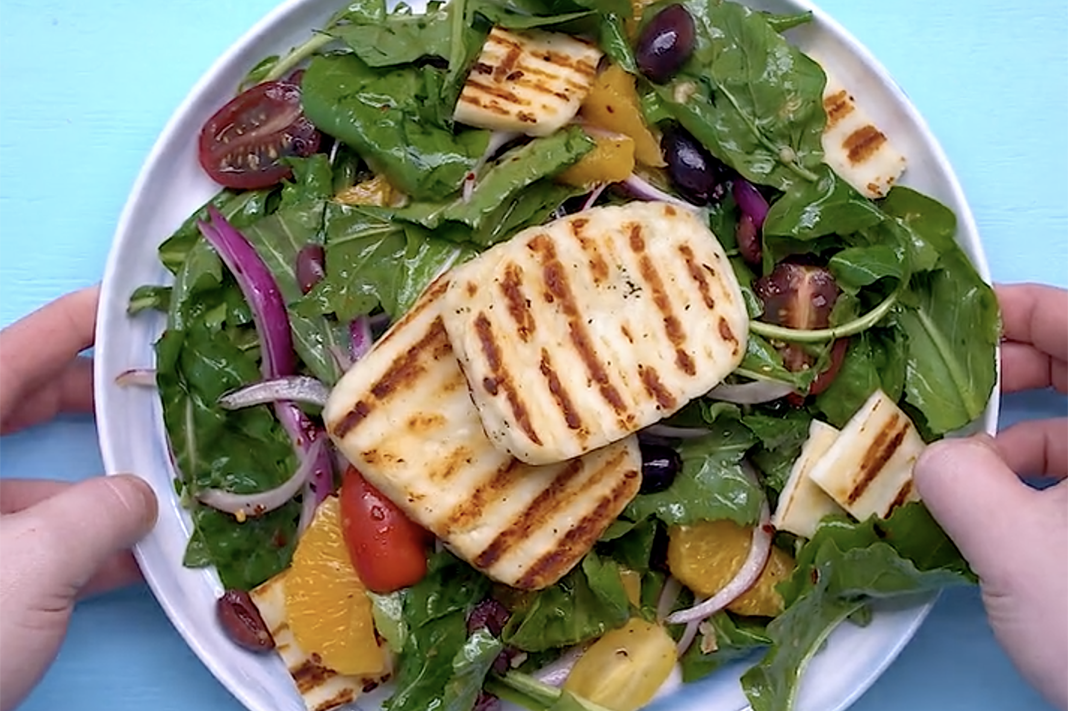 best grilled cheese salad ever