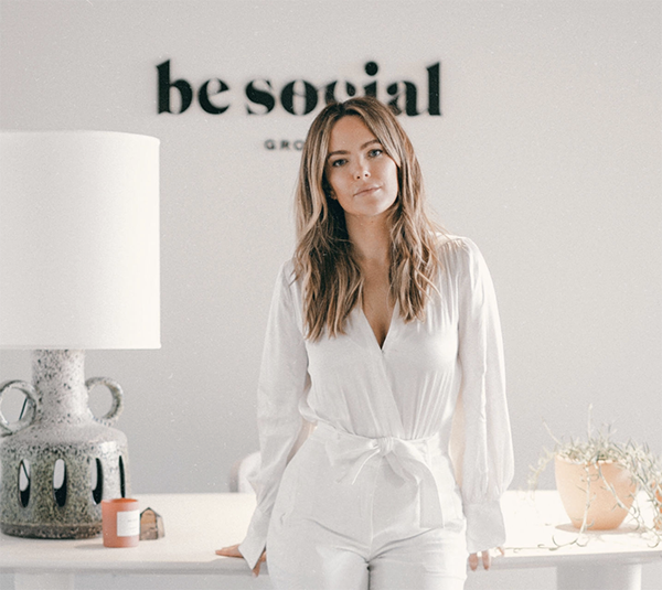 ali grant of be social interview