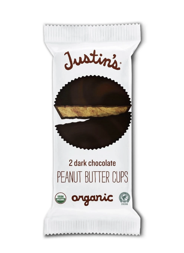best vegan chocolate, justin's peanut butter cups