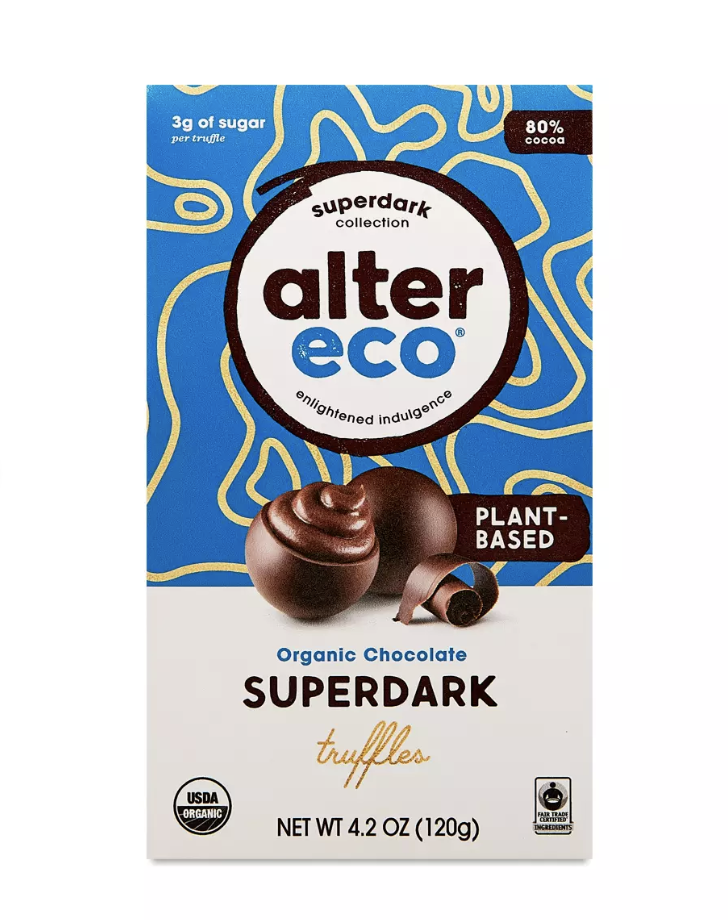 best vegan chocolates, alter eco chocolates
