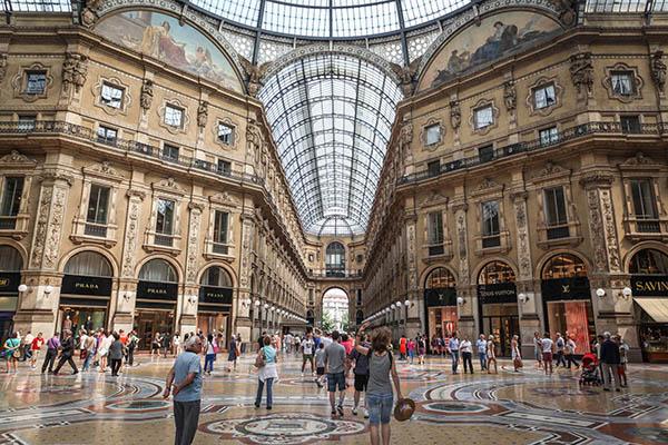 best european cities to shop in, milan